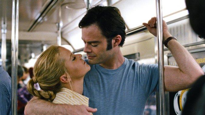 amy schumer & bill hader subway trainwreck